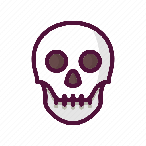 anatomy, bone, bones, death, halloween, skeleton, skull icon