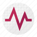 activity, cardiology, favorite, heart, heartbeat, love, pulse icon