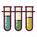 analyzes, chemistry, experiment, laboratory, science, test-tube, tube icon