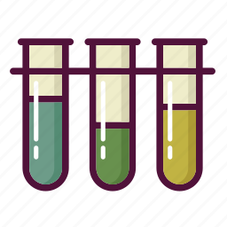 analyzes, chemistry, experiment, laboratory, science, test-tube, tube icon