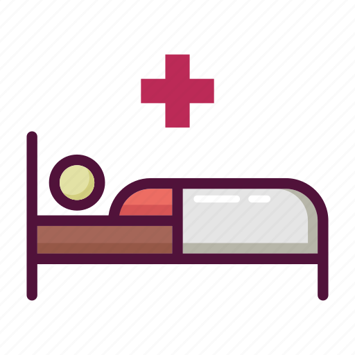 ambulance, bed, clinic, healthcare, hospital, medicine, patient icon