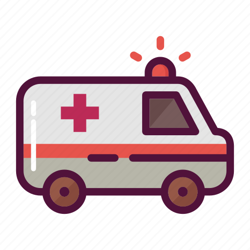 ambulance, car, emergency, healthcare, hospital, medicine, transportation icon