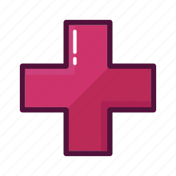 cross, doctor, health, health care, healthcare, hospital, plus icon