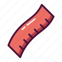fitness, measure, measuring tape, ruler, scale, straightedge, weight icon