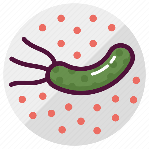 bacteria, bacterium, germs, infection, medicine, microbe, virus icon
