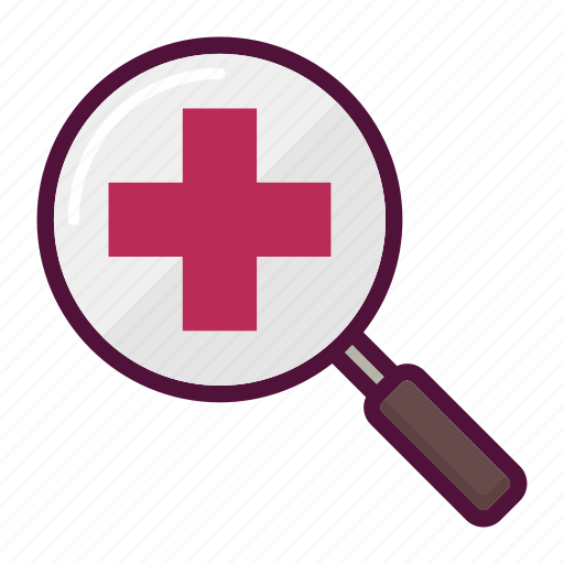 glass, healthcare, magnifier, magnifying glass, medicine, search, searching icon
