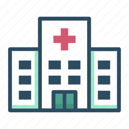 ambulance, building, clinic, healthcare, hospital, house, medicine icon