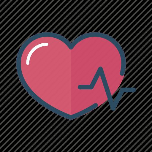 cardiology, doctor, health, heart, heartbeat, hospital, pulse icon