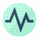 activity, cardiology, health, healthcare, heart, heartbeat, pulse icon