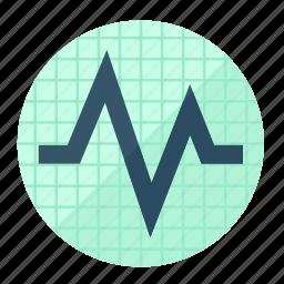 activity, cardiology, health, healthcare, heart, heartbeat, pulse icon