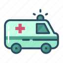 ambulance, car, emergency, healthcare, hospital, medical, medicine icon