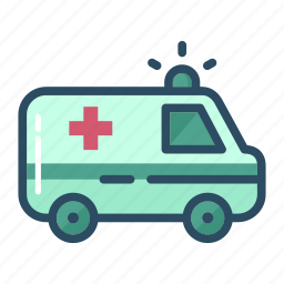 ambulance, car, emergency, healthcare, hospital, medical, medicine icon