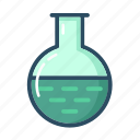 chemistry, experiment, flask, laboratory, science, test-tube, tube icon