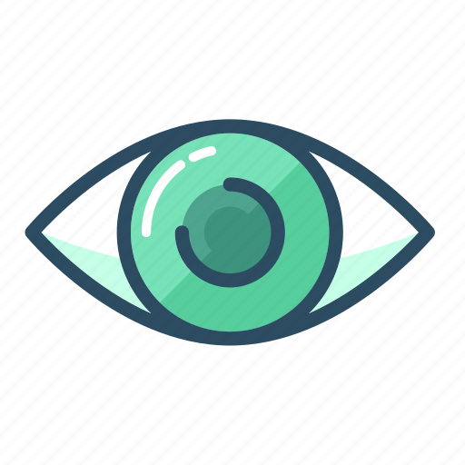 eye, look, ophthalmology, see, spy, view, vision icon