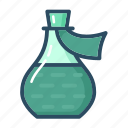 bottle, flask, healthcare, medicine, mixture, potion, treatment icon