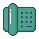 address, call, contact, fax, phone, support, telephone icon