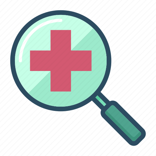 healthcare, magnifier, magnifying, medicine, search, searching glass, zoom icon