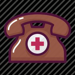 ambulance, call, clinic, hospital, phone, smartphone, telephone icon