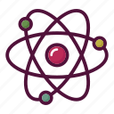 atom, chemistry, education, lab, laboratory, molecule, science icon