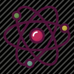 atom, chemistry, education, lab, laboratory, molecule, science icon