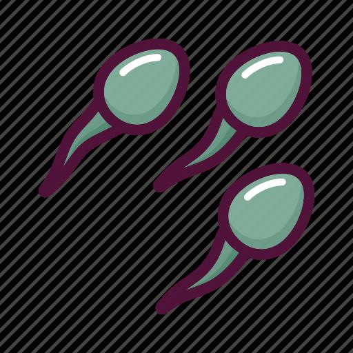 contraception, fertilization, pregnancy, reproduction, semen, sperm, spermatozoon icon
