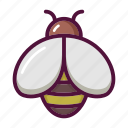 apitherapy, bee, beehive, fly, honey, insect, wasp icon