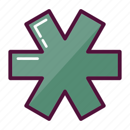 ambulance, asterisk, clinic, first aid, hospital, medicine, pharmacy icon