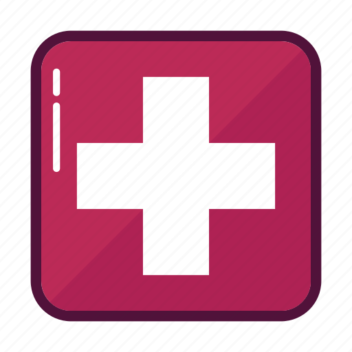 ambulance, clinic, cross, healthcare, hospital, medicine, pharmacy icon