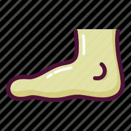 anatomy, body, feet, foot, human, leg, orthopedics icon