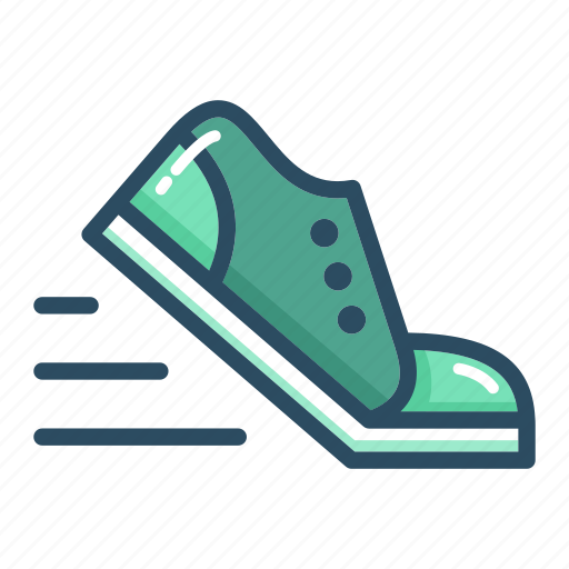 exercise, fitness, run, running, sneakers, sport, training icon