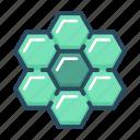 apitherapy, bee, beehive, honey, honeycomb, hexagon, nature