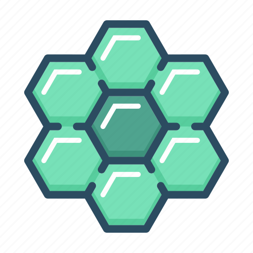 apitherapy, bee, beehive, hexagon, honey, honeycomb, nature icon