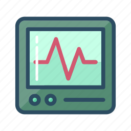 cacrdiology, doctor, healthcare, heart monitor, heartbeat, hospital, pulse icon