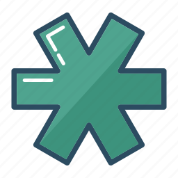 ambulance, asterisk, doctor, first aid, hospital, medicine, pharmacy icon