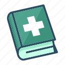 book, education, healthcare, learning, medicine, science, study icon