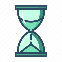 clock, hourglass, psychology, session, time, timepiece, timer icon