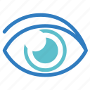 eye, eyeplasty, eyesight, ophthalmology, optical, see, vision icon