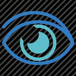 eye, eyeplasty, eyesight, ophthalmology, optical, see, vision icon