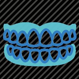 dental, denture, mouth, oral, oral cavity, stomatology, teeth icon