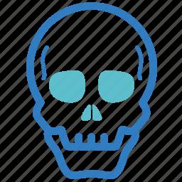 anatomy, bone, death, human body, orthopedic, skeleton, skull icon