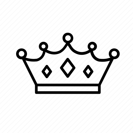 crown, king, medieval, middle ages, queen, royal, throne icon