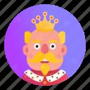 crown, fantasy, king, kingdom, man, medieval, royal
