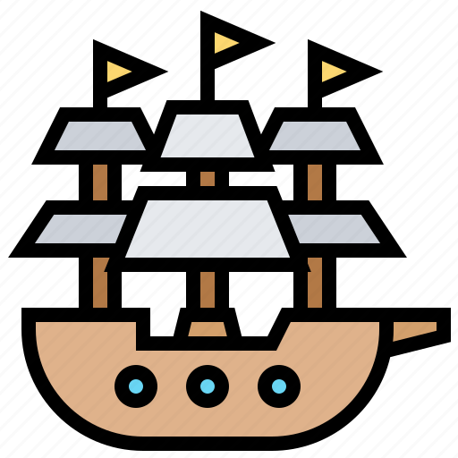 armed, battleship, forces, military, warship icon