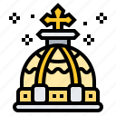 crown, king, medieval, renaissance, royal icon