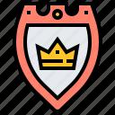 defense, knight, shield, warrior, warship icon
