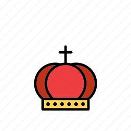 crown, king, mediaeval, medieval, middle ages, queen, times icon
