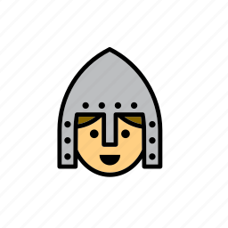 knight, man, mediaeval, medieval, middle ages, soldier, times icon