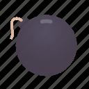 bomb, danger, explosion, explosive, medieval icon