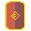 armor, defense, great, medieval, shield icon