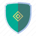 armor, defense, iron, medieval, shield icon